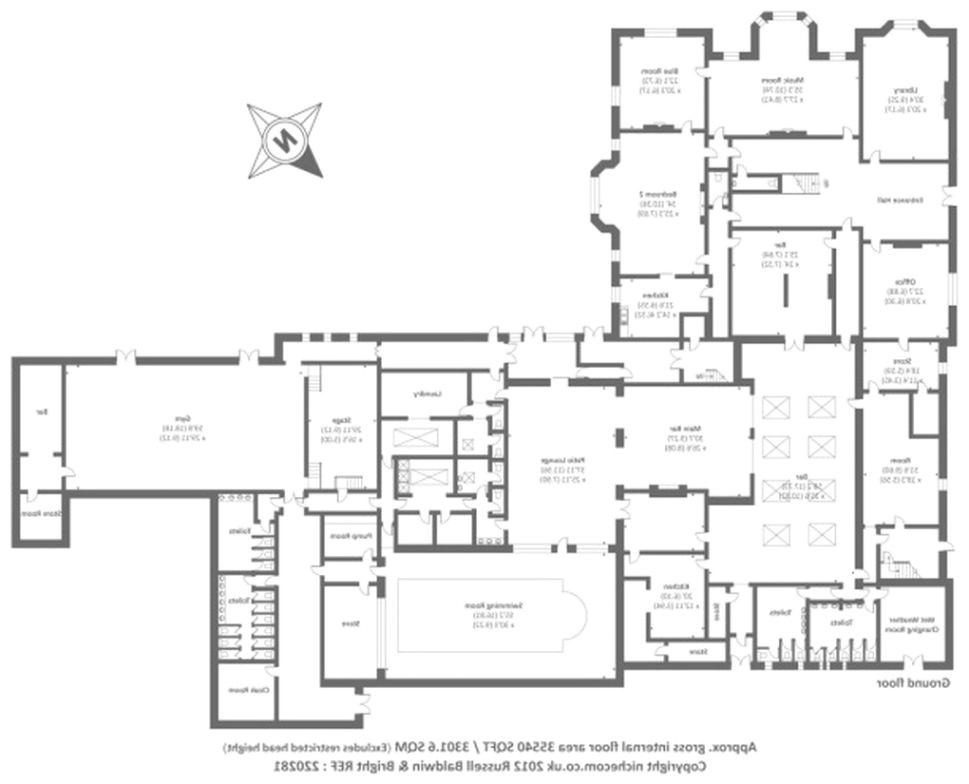 10 bedroom house floor plans