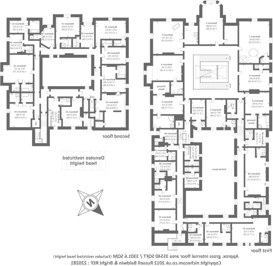 10 bedroom house floor plans home idea