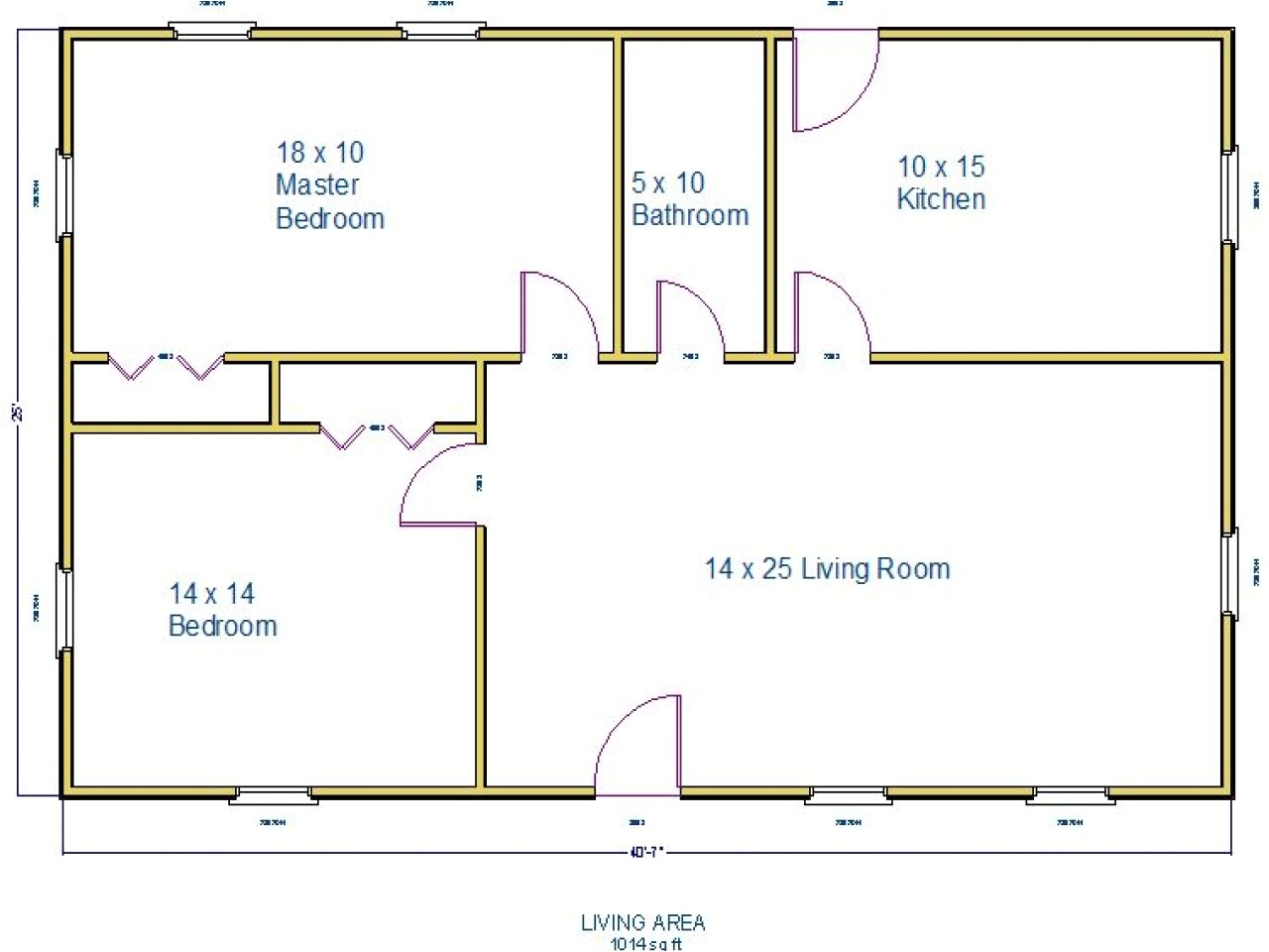 1000 Square Foot Home Floor Plans 1000 Square Foot House Plans 1500 Square Foot House Small