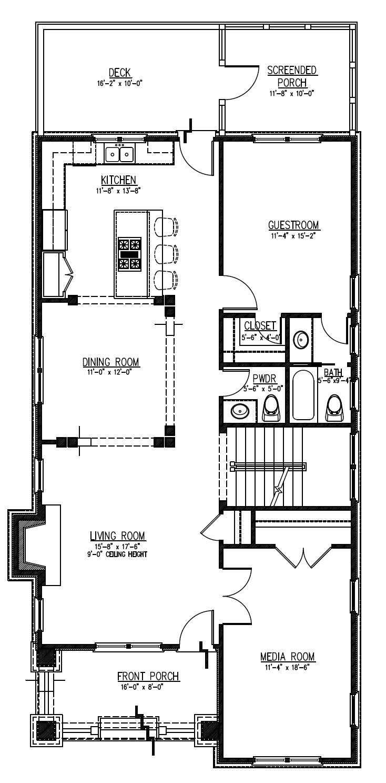 home plan 25250