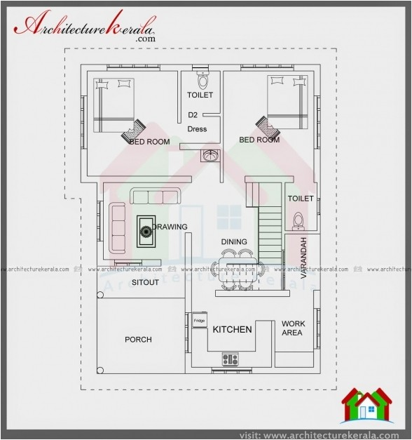 3bhk house plan for 1000 sq ft north facing