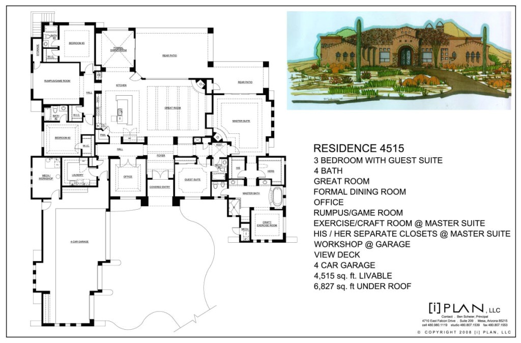 10 000 square foot home plans