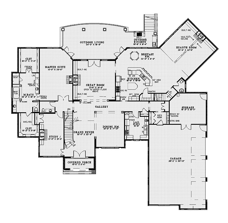 10000 square foot house plans