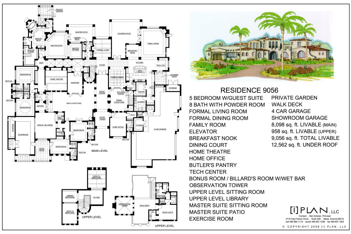 floor plans 7501 sq ft 10000 sq ft