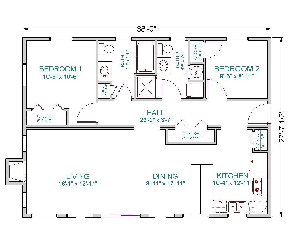 1100 sq ft house plans fresh floor plans