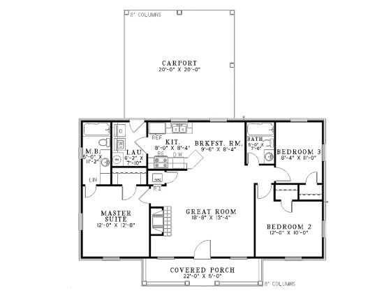 simple small house floor plans 1100 square feet