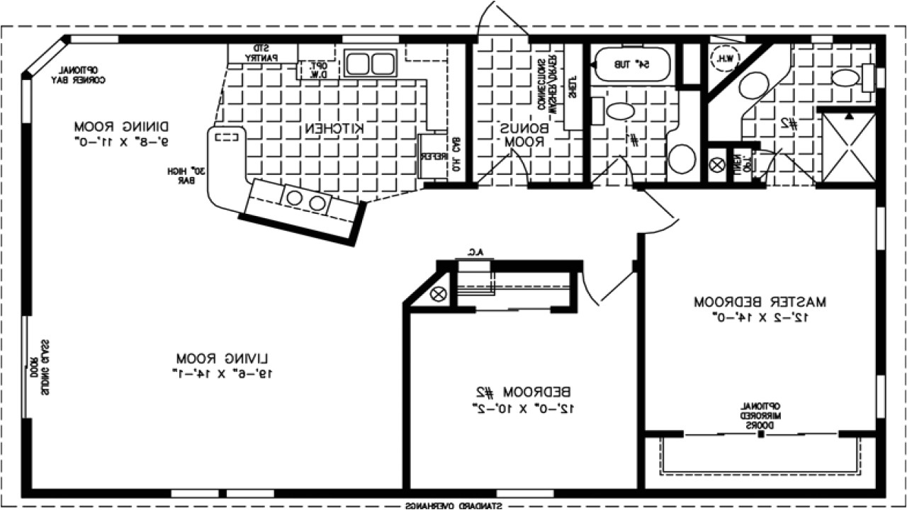 1200 Square Foot House Plans with Basement Home Design 79 Exciting 1200 Square Foot House Planss