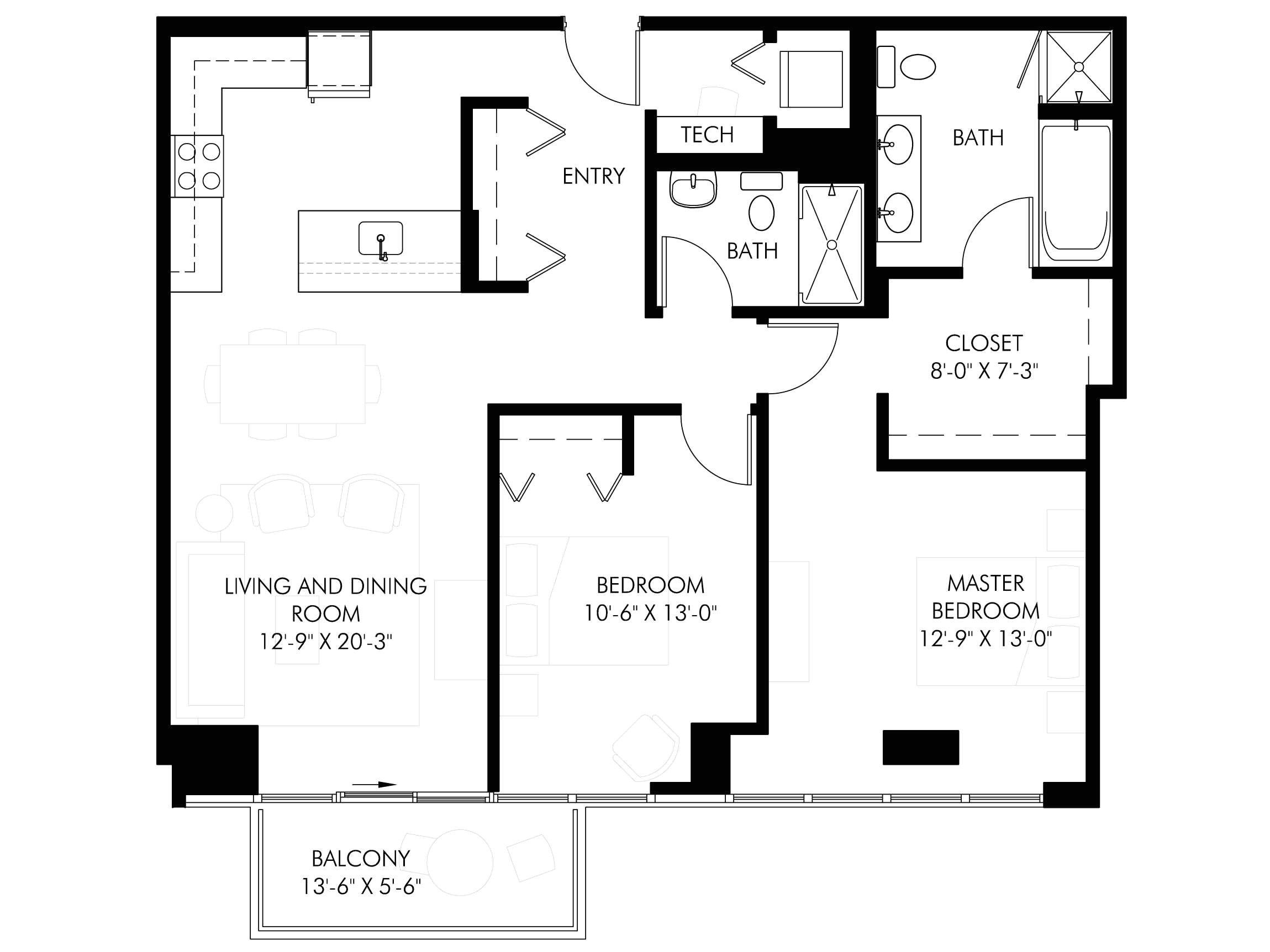 1400 sq ft house plans with basement