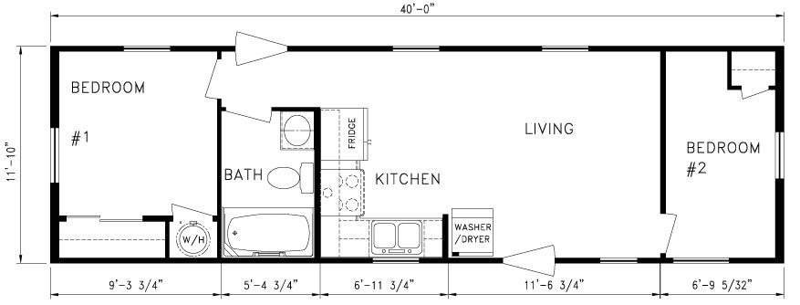 14x70 mobile home floor plan new 2 bedroom 14 x 70 mobile homes floor plans floor plans