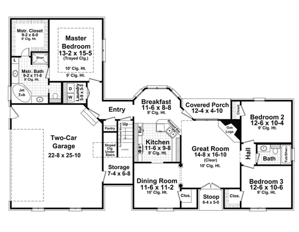 1500 to 1600 square feet house plans homes zone simple 3 bedroom brilliant sq ft ranch
