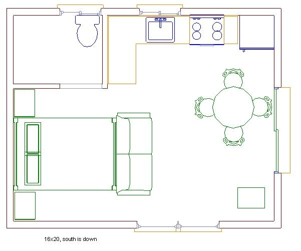 16×20 House Floor Plans 16×20 Cabin Plans with Loft Joy Studio Design Gallery