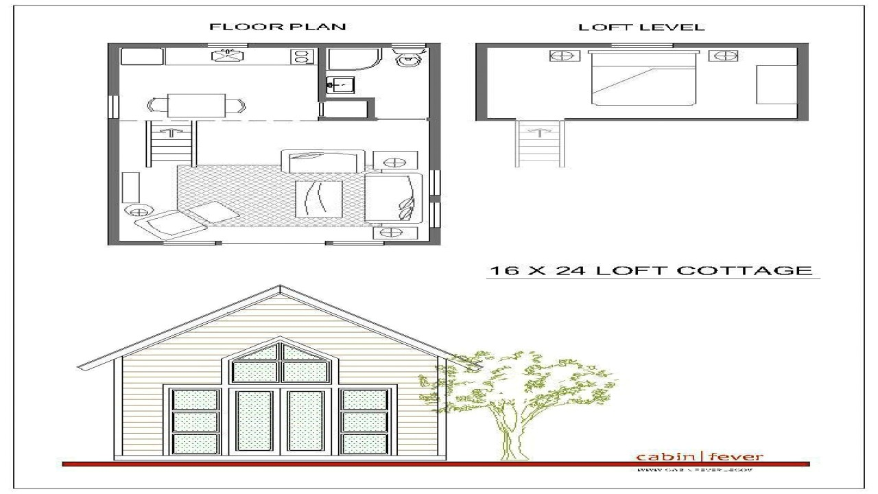 5383c9152150658b 16x24 cabin plans with loft 16x20 cabin