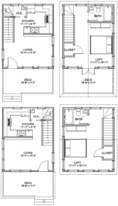 sexy 24x24 cabin designs