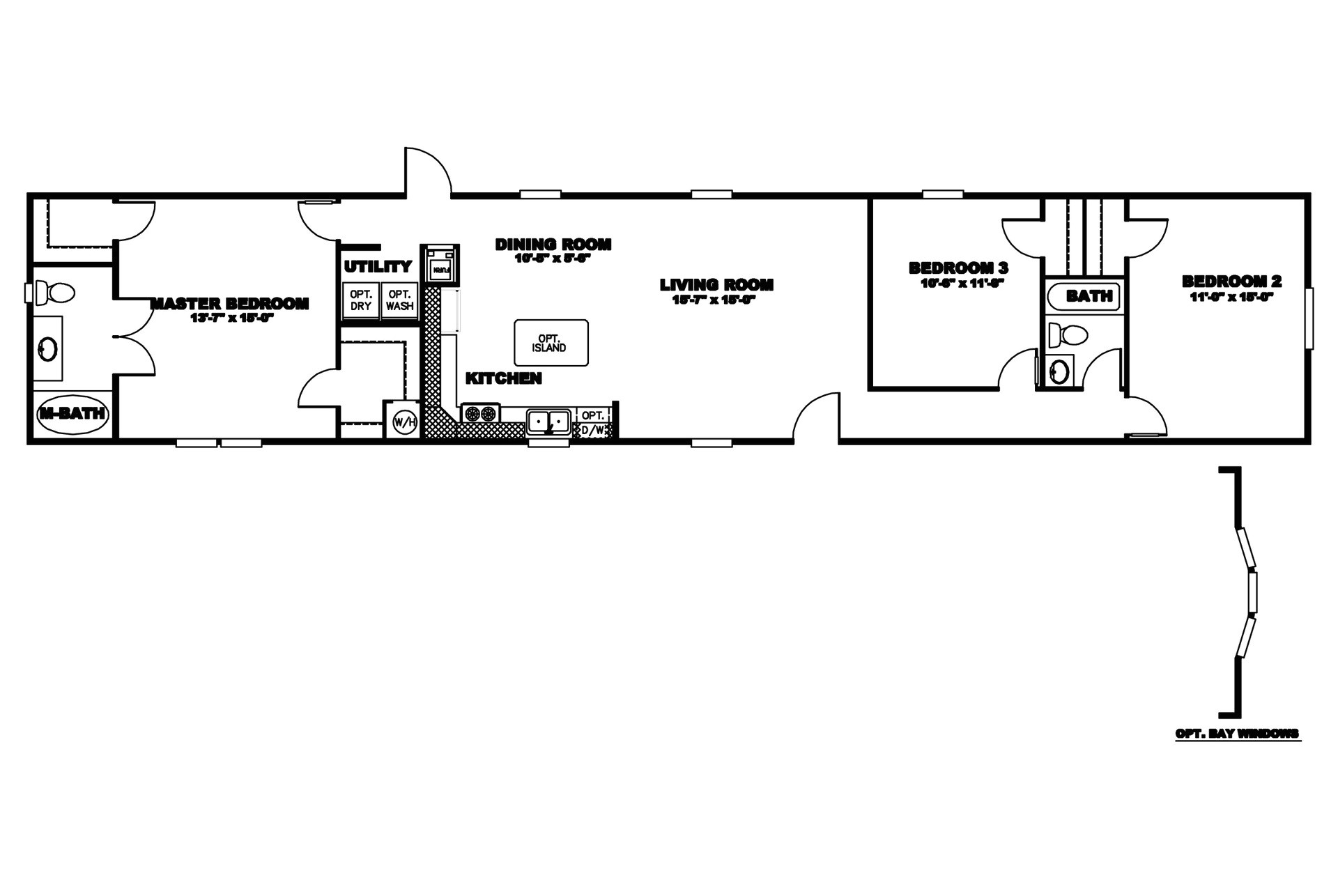 manufacturedhomefloorplan floorplan 3858 state ar city mena