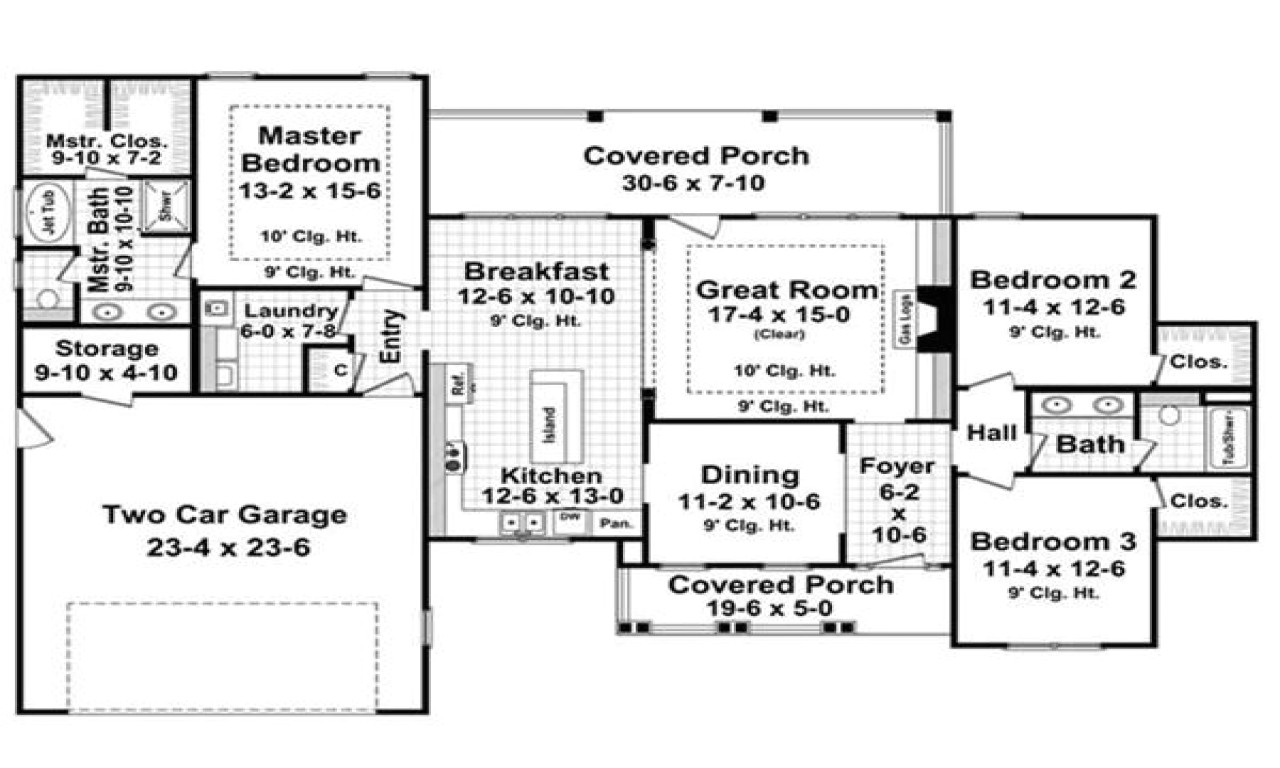 1800 sq ft house plans with basement