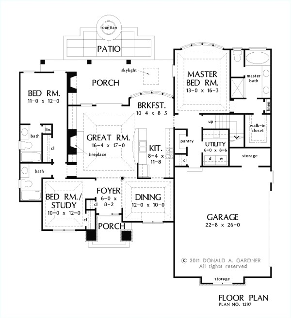 1800 sq ft house plans with walkout basement bm