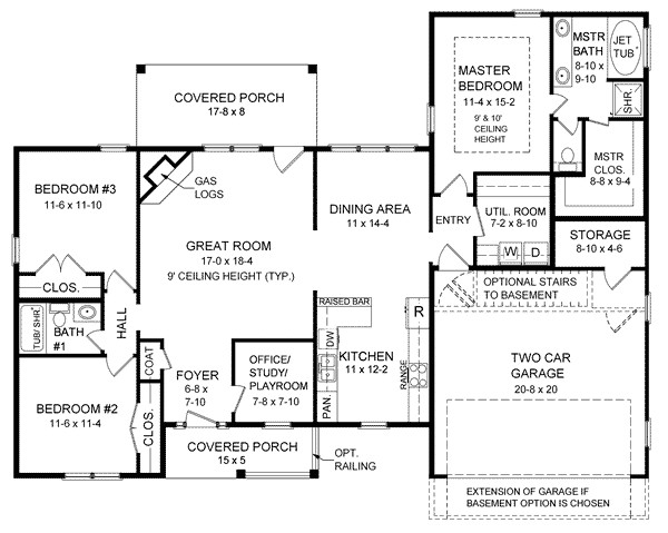 1800 to 2000 sq ft ranch house plans