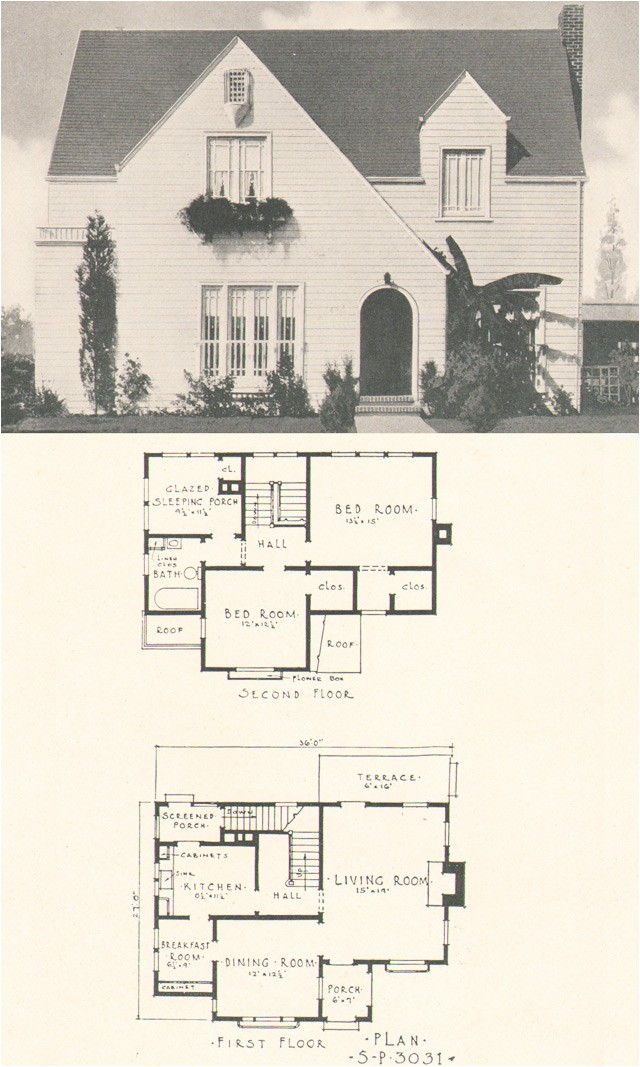 1920s home plans