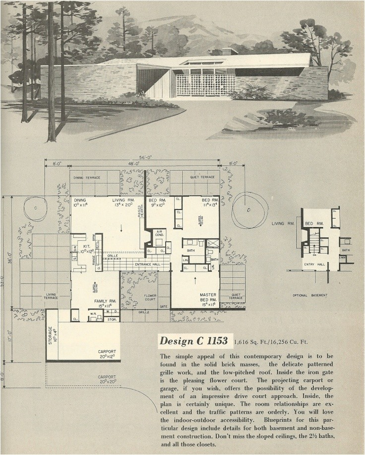1960039s Home Plans 1960s House Design 28 Images Vintage House Plans 1960s