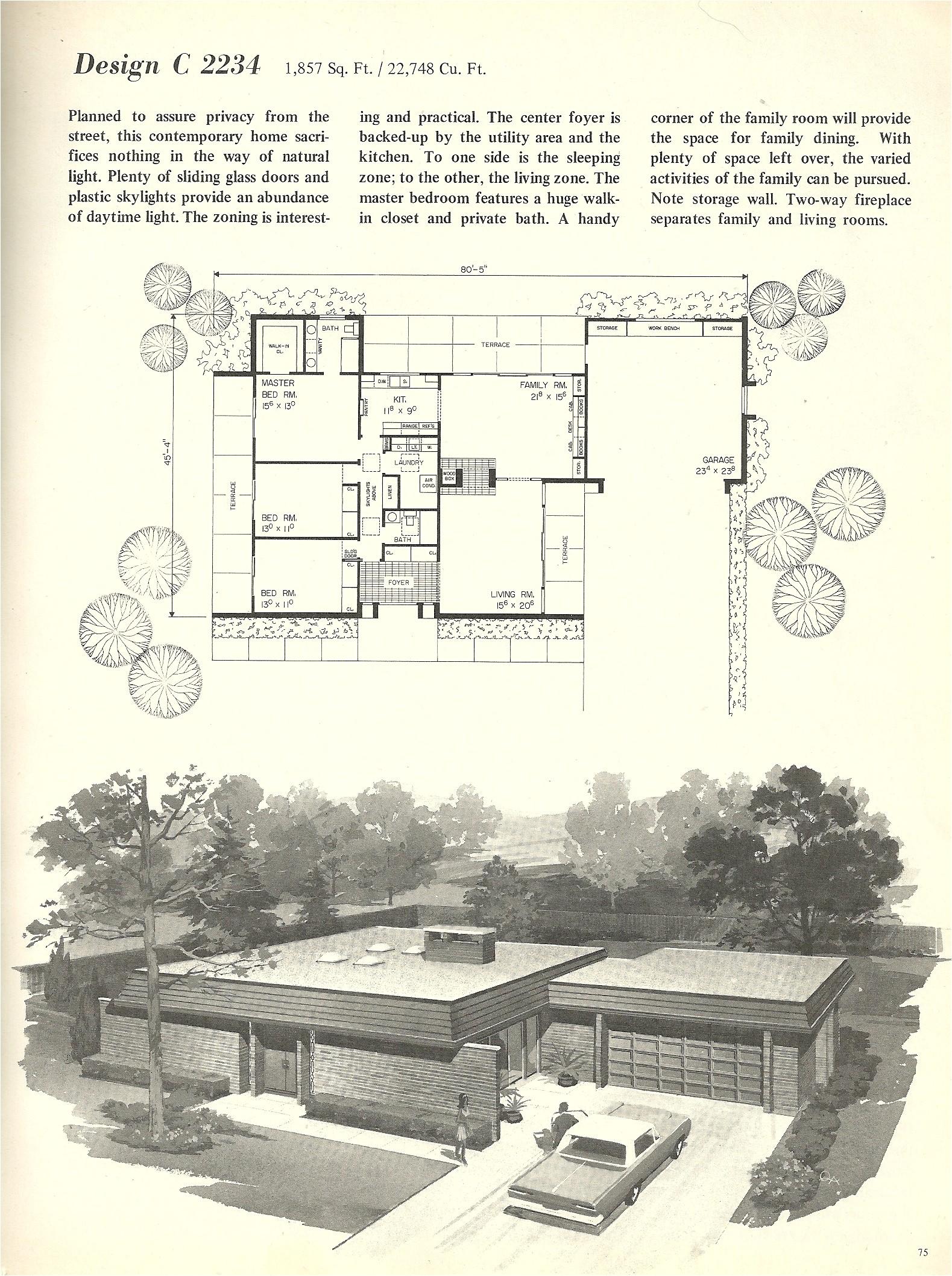 vintage house plans 2234