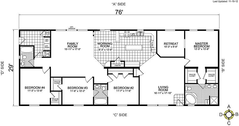 1999 Champion Mobile Home Floor Plans Redman Mobile Home Floor Plans Floor Matttroy