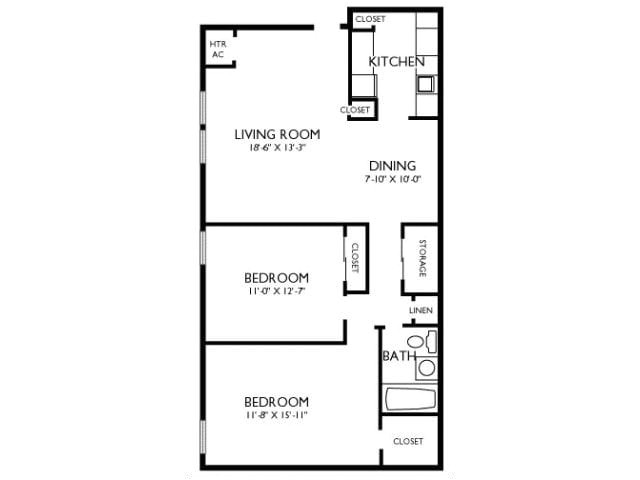 2 bedroom 1 bath house plans