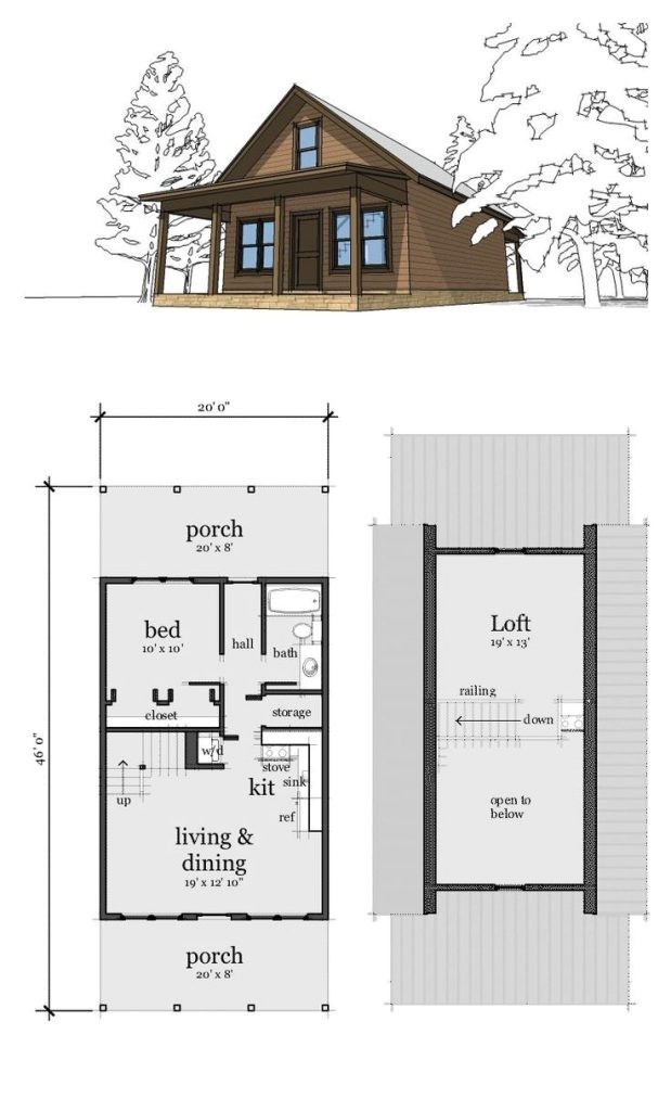 2 Bedroom Home Plans with Loft Luxury 2 Bedroom with Loft House Plans New Home Plans Design