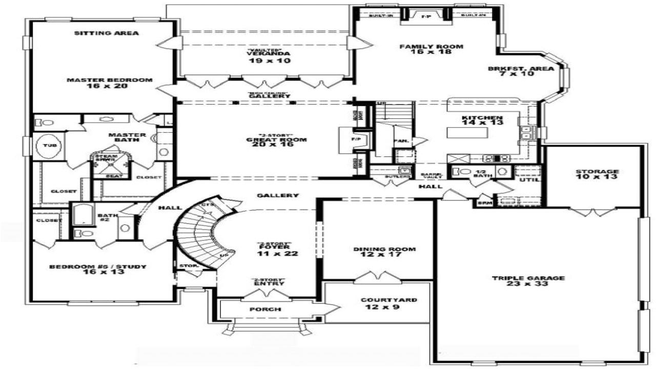 2 Bedroom Home Plans with Loft Vdara Two Bedroom Loft 4 Bedroom 2 Story House Floor Plans