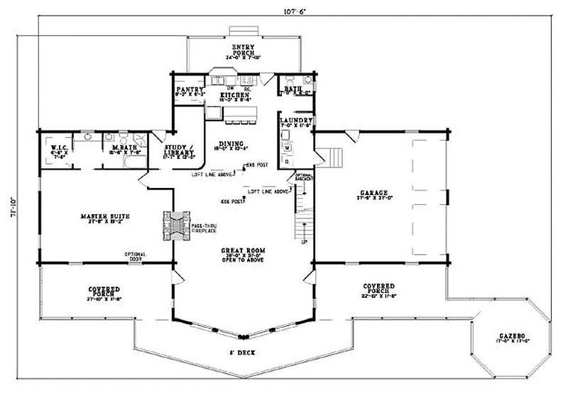 190 plan 110 00933 2 bedroom 2 5 bath