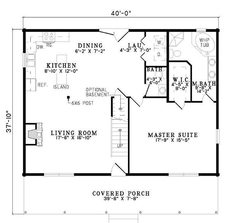 267 plan 110 00954 3 bedroom 2 5 bath