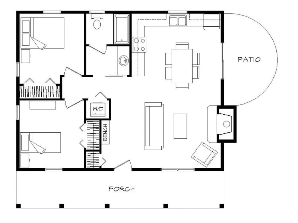 6cf363f79226ada7 2 bedroom log cabin floor plans 2 bedroom manufactured cabin