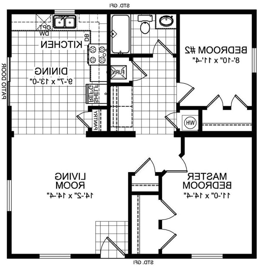2 br 2 ba house plans