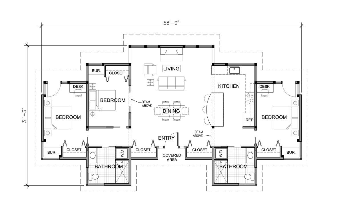 3br 2ba house plans