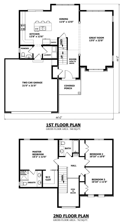 modern 2 storey house plans
