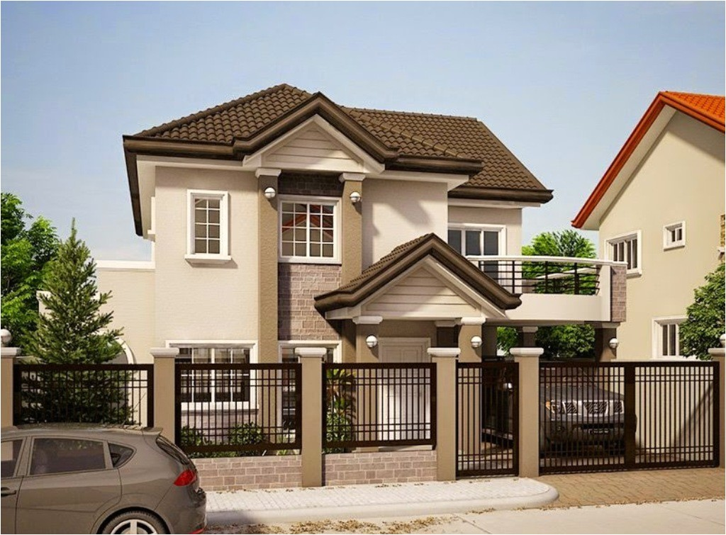 small 2 storey house designs layouts