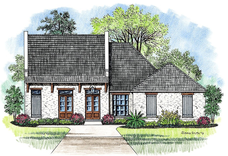 2 story french acadian house plans
