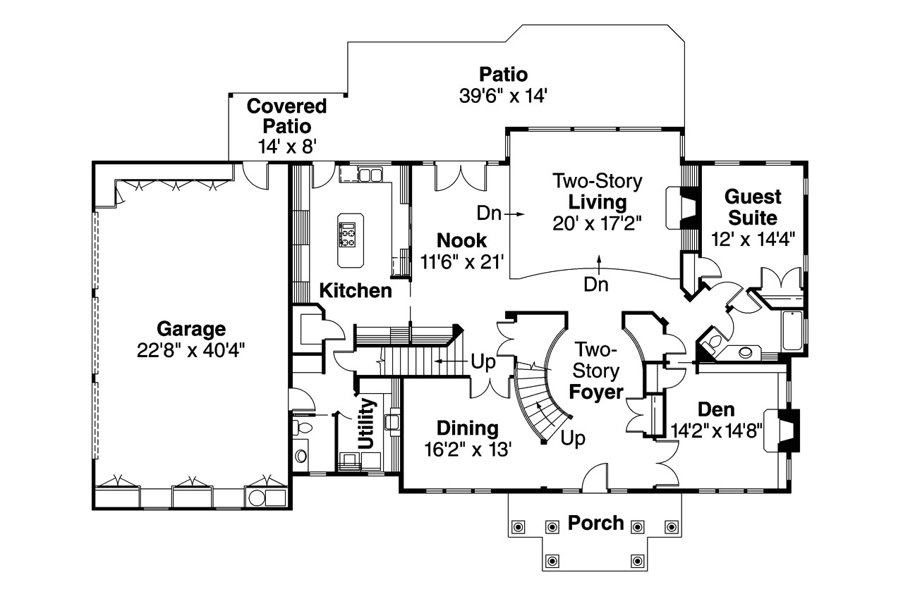 2 story house plans with curved staircase unique breconshire house plan