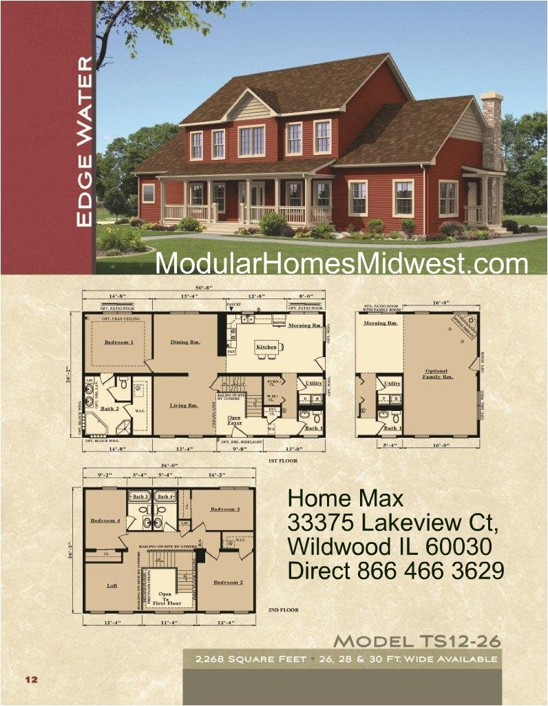 modular homes with open floor plans