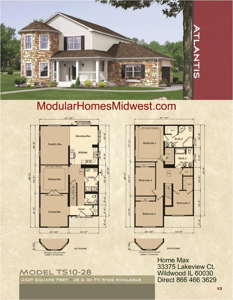 ohio modular home price list