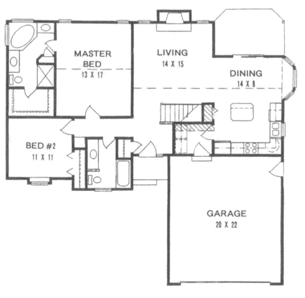 200 square foot house plans