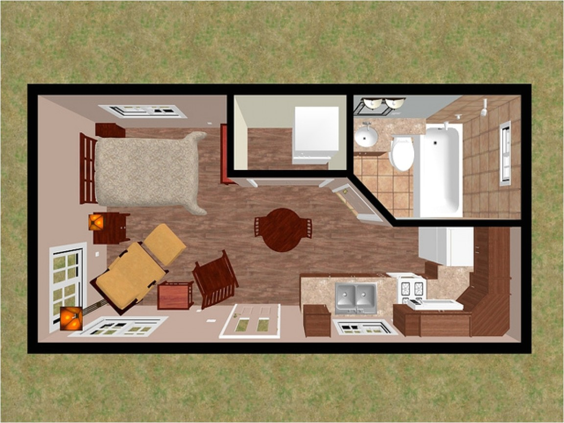 200 Square Feet House Plans Under 200 Sq Ft Home 200 Sq Ft Tiny House Floor Plans