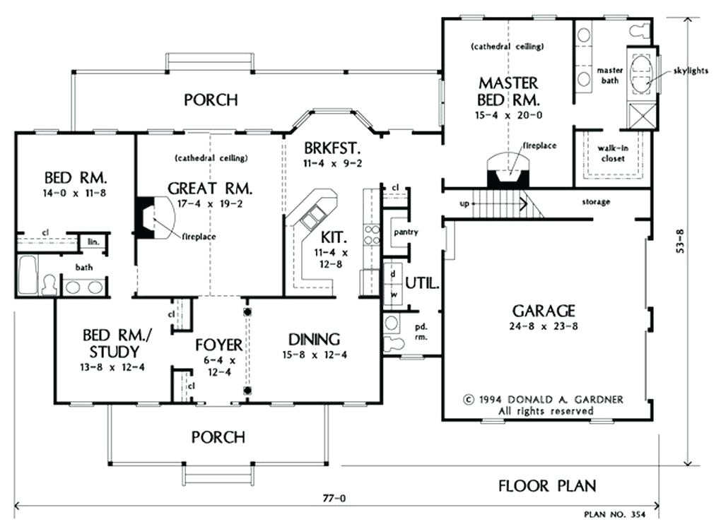 2000 Square Foot House Plans with Walkout Basement ...