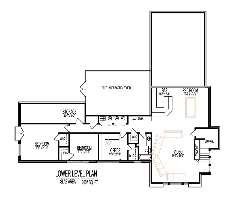 2000 sq ft house plans with walkout basement