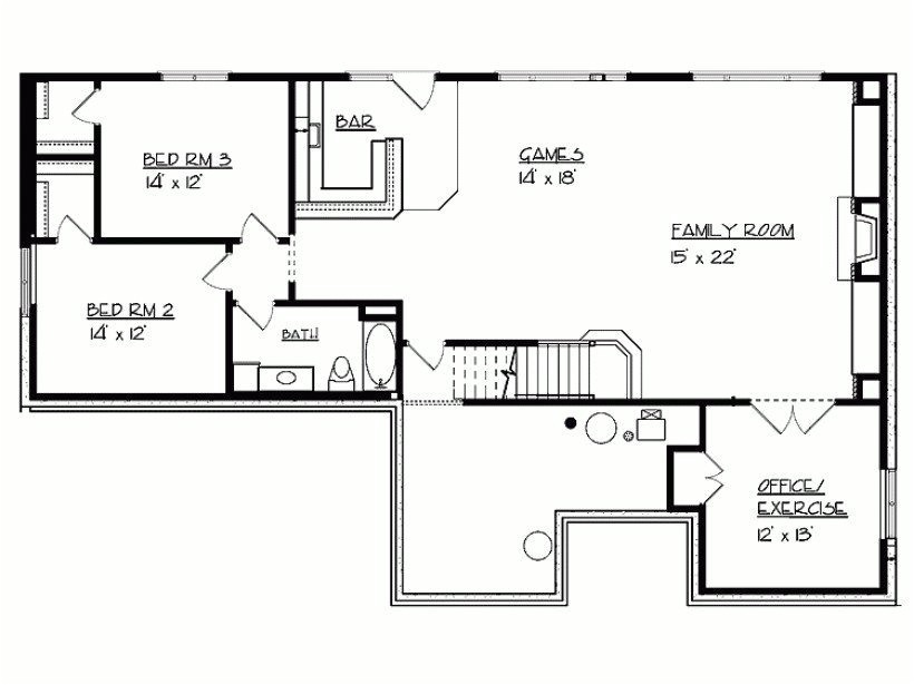 2000 Square Foot House Plans with Walkout Basement Cottage House Plans Under 2000 Sq Ft Ipefi Com