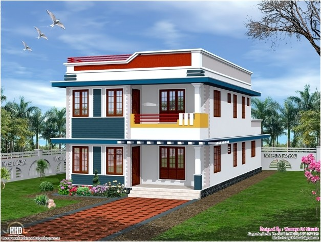 awesome march 2014 house design plans indian keralahomedesign roof house2d elevation image