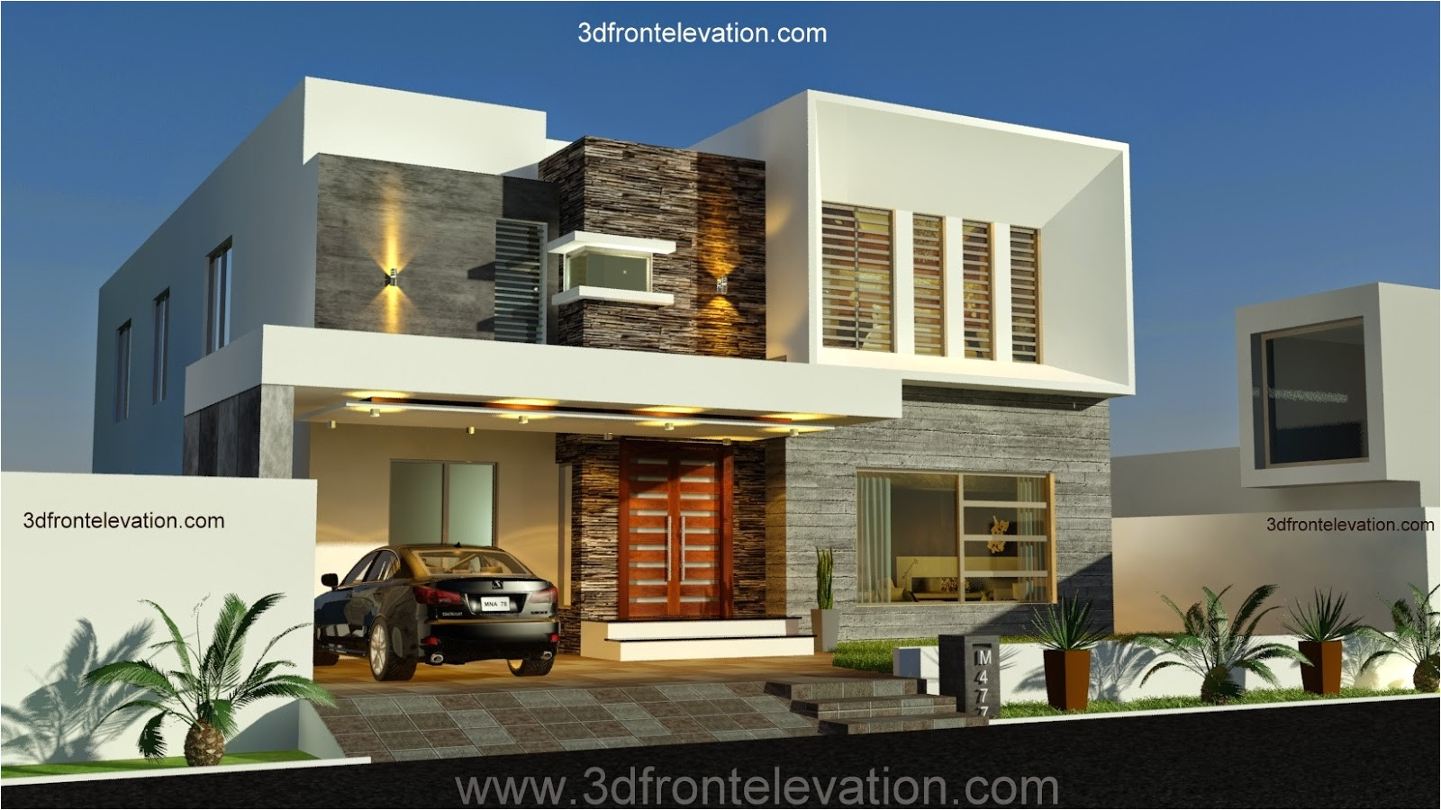 new 1 kanal contemporary house design pakistan 2014 m 1