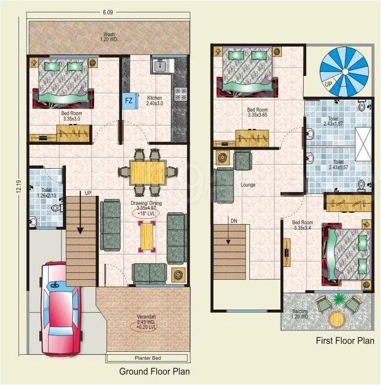 20x40 floor plan