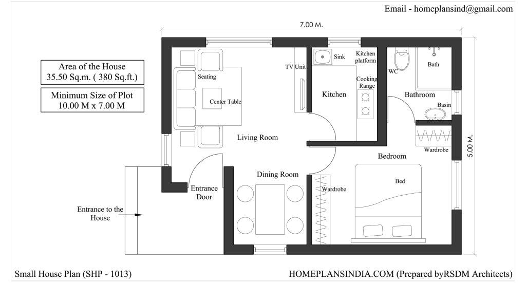 20×40 House Plans India 20×40 One Bedroom House Plans Joy Studio Design Gallery