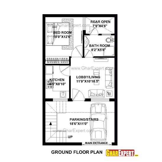 20 x 40 house plans