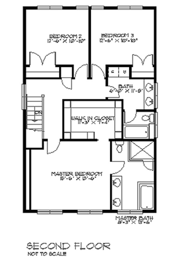2100 square feet 3 bedrooms 2 5 bathroom craftsman home plans none garage 36826